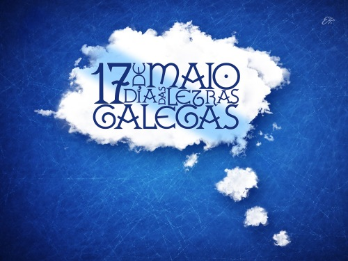 wallpaper Letras Galegas © Eze